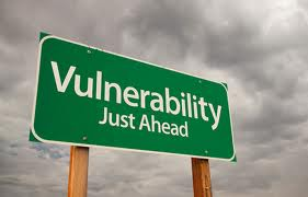 sign of vulnerability